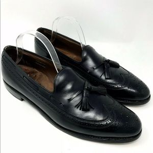 Allen Edmonds Manchester Wing Tip Brogue Loafers